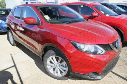 2015 Nissan Qashqai J11 TS Magnetic Red 1 Speed Constant Variable Wagon Buderim Maroochydore Area Preview