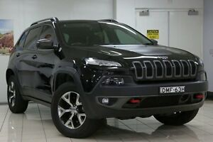2014 Jeep Cherokee KL Trailhawk (4x4) Black 9 Speed Automatic Wagon Chatswood West Willoughby Area Preview