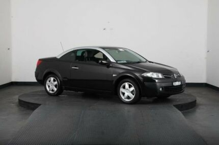 2009 Renault Megane X84 MY06 Upgrade Dynamique Black 4 Speed Automatic Cabriolet Greenacre Bankstown Area Preview