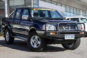 2013 Nissan Navara D22 S5 ST-R Blue 5 Speed Manual Utility Cannington Canning Area Preview