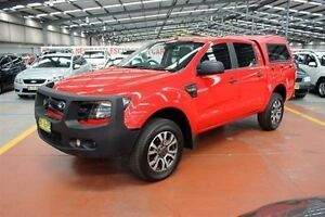 2013 Ford Ranger PX XL Double Cab Red 6 Speed Sports Automatic Utility Maryville Newcastle Area Preview