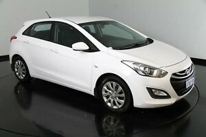 2013 Hyundai i30 GD Active White 6 Speed Sports Automatic Hatchback Victoria Park Victoria Park Area Preview