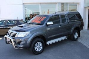 2013 Toyota Hilux KUN26R MY12 SR5 Xtra Cab Grey 5 Speed Manual Utility Mount Gravatt Brisbane South East Preview