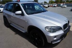2007 BMW X5 E70 d Steptronic Silver 6 Speed Sports Automatic Wagon Revesby Bankstown Area Preview