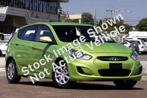 2013 Hyundai Accent RB Active Green 4 Speed Sports Automatic Hatchback Slacks Creek Logan Area Preview