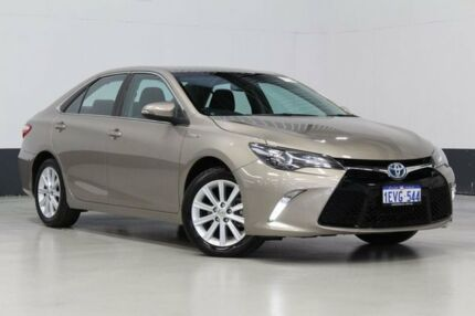 2015 Toyota Camry AVV50R MY15 Atara S Hybrid Bronze Continuous Variable Sedan