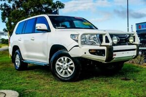 2013 Toyota Landcruiser VDJ200R MY12 GXL White 6 Speed Sports Automatic Wagon Wangara Wanneroo Area Preview