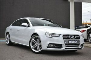 2015 Audi S5 8T MY16 Sportback S tronic quattro White 7 Speed Sports Automatic Dual Clutch Hatchback Burwood Whitehorse Area Preview