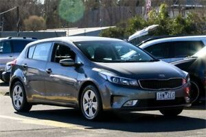 2016 Kia Cerato YD MY16 S Grey 6 Speed Sports Automatic Hatchback Ringwood East Maroondah Area Preview