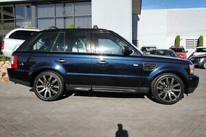 2009 Land Rover Range Rover Sport L320 09MY TDV6 Blue 6 Speed Sports Automatic Wagon Osborne Park Stirling Area Preview