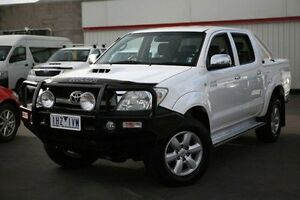 2011 Toyota Hilux White Automatic Utility Cranbourne Casey Area Preview