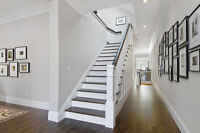 Home painters and staircase painting, done right!