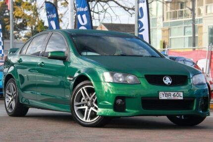 2011 Holden Commodore VE II SV6 Poison Ivy 6 Speed Manual Sedan Waitara Hornsby Area Preview