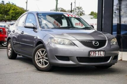 2005 Mazda 3 BK10F1 Neo Grey 4 Speed Sports Automatic Sedan Mount Gravatt Brisbane South East Preview