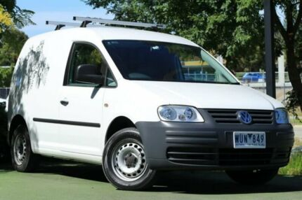 2009 Volkswagen Caddy 2KN SWB White 5 Speed Manual Van
