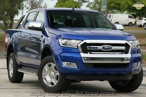 2016 Ford Ranger PX MkII XLT 3.2 (4x4) Aurora Blue 6 Speed Automatic Dual Cab Utility Wangara Wanneroo Area Preview