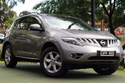 2011 Nissan Murano Z51 Series 3 TI Grey 6 Speed Constant Variable Wagon