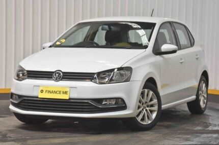 2014 Volkswagen Polo 6R MY14 77TSI DSG Comfortline White 7 Speed Sports Automatic Dual Clutch Hendra Brisbane North East Preview