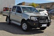 2011 Toyota Hilux KUN26R MY12 SR Double Cab Silver 4 Speed Automatic Utility Pearsall Wanneroo Area Preview