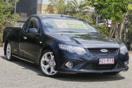 2011 Ford Falcon FG MkII XR6 Ute Super Cab Black 6 Speed Sports Automatic Utility
