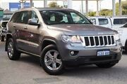 2013 Jeep Grand Cherokee WK MY2013 Laredo Grey 5 Speed Sports Automatic Wagon Glendalough Stirling Area Preview
