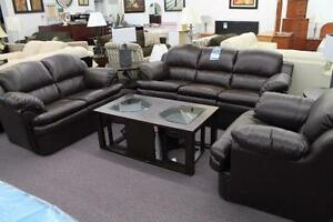 BRAND NEW BONDED LEATHER (SOFA AND LOVE SEAT)