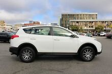 2014 Toyota RAV4 ZSA42R MY14 GX 2WD Glacier White 7 Speed Constant Variable Wagon Northbridge Perth City Preview