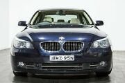 2008 BMW 550i E60 MY08 Steptronic Blue 6 Speed Sports Automatic Sedan Rozelle Leichhardt Area Preview