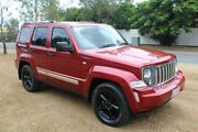 2012 Jeep Cherokee KK MY12 JET Red 4 Speed Automatic Wagon Ormeau Gold Coast North Preview