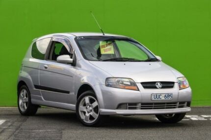 2007 Holden Barina TK MY07 Silver 4 Speed Automatic Hatchback Ringwood East Maroondah Area Preview