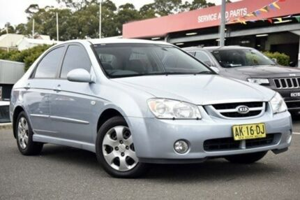 2006 Kia Cerato LD MY07 EX Blue 5 Speed Manual Sedan Castle Hill The Hills District Preview