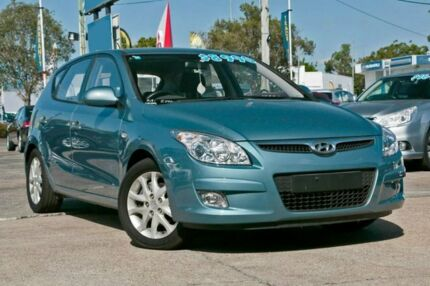 2009 Hyundai i30 FD MY09 SLX Blue 5 Speed Manual Hatchback Capalaba Brisbane South East Preview