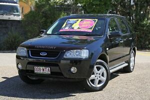 2005 Ford Territory SY TS Black 4 Speed Sports Automatic Wagon Underwood Logan Area Preview