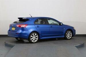 2014 Mitsubishi Lancer CJ MY14.5 GSR Sportback Blue 5 Speed Manual Hatchback Smithfield Parramatta Area Preview