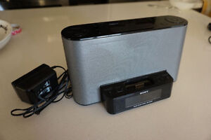 SONY FM/AM CLOCK RADIO for iPod-iPhone (old generation)