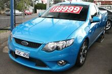 2010 Ford Falcon FG Upgrade XR6 50th Anniversary Blue 6 Speed Auto Seq Sportshift Utility Briar Hill Banyule Area Preview