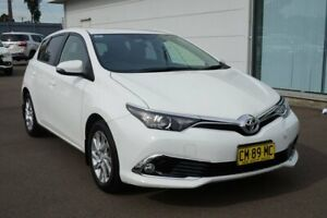 2017 Toyota Corolla ZRE182R Ascent Sport S-CVT White 7 Speed Constant Variable Hatchback Cardiff Lake Macquarie Area Preview