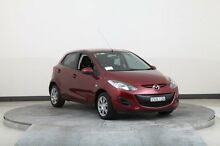 2012 Mazda 2 DE MY12 Neo Red 4 Speed Automatic Hatchback Smithfield Parramatta Area Preview