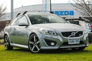 2012 Volvo C30 M Series MY12 T5 Geartronic R-Design Silver 5 Speed Sports Automatic Hatchback Wangara Wanneroo Area Preview