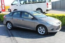 2012 Ford Focus LW Trend Grey 6 Speed Automatic Sedan Taylors Beach Port Stephens Area Preview