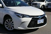 2015 Toyota Camry AVV50R MY15 Atara S Hybrid Diamond White Continuous Variable Sedan Northbridge Perth City Area Preview