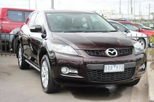 2007 Mazda CX-7 ER Luxury (4x4) Maroon 6 Speed Auto Activematic Wagon Heatherton Kingston Area Preview