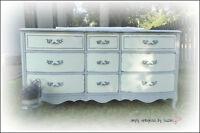 SHabby French Provincial Dresser