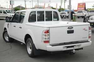 2010 Ford Ranger PK XL Crew Cab Cool White 5 Speed Automatic Utility Acacia Ridge Brisbane South West Preview