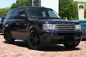 2006 Land Rover Range Rover Sport L320 06MY TDV6 Blue 6 Speed Sports Automatic Wagon Osborne Park Stirling Area Preview