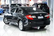 2012 Honda Civic 9th Gen VTi-L Crystal Black 5 Speed Sports Automatic Sedan South Melbourne Port Phillip Preview