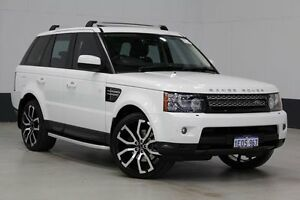 2012 Land Rover Range Rover MY12 Sport 3.0 SDV6 Luxury White 6 Speed Automatic Wagon Bentley Canning Area Preview