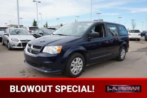 2015 Dodge Grand Caravan REAR STOW AND GO Accident Free,  3rd Ro