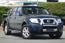 2013 Nissan Navara D40 S6 MY12 ST Blue Velvet 6 Speed Manual Utility Acacia Ridge Brisbane South West Preview