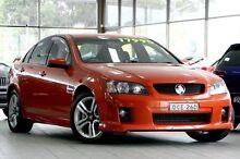 2009 Holden Commodore VE MY09.5 SV6 Orange 6 Speed Manual Sedan Roseville Ku-ring-gai Area Preview